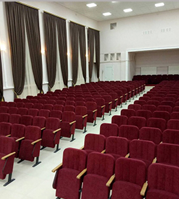 New auditorium for 326 seats in Sumy region
