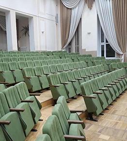 Кресла для актового зала Национальной академии пищевых технологий в Одессе