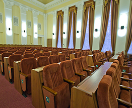 Hall of the meeting of the city council, Kharkiv