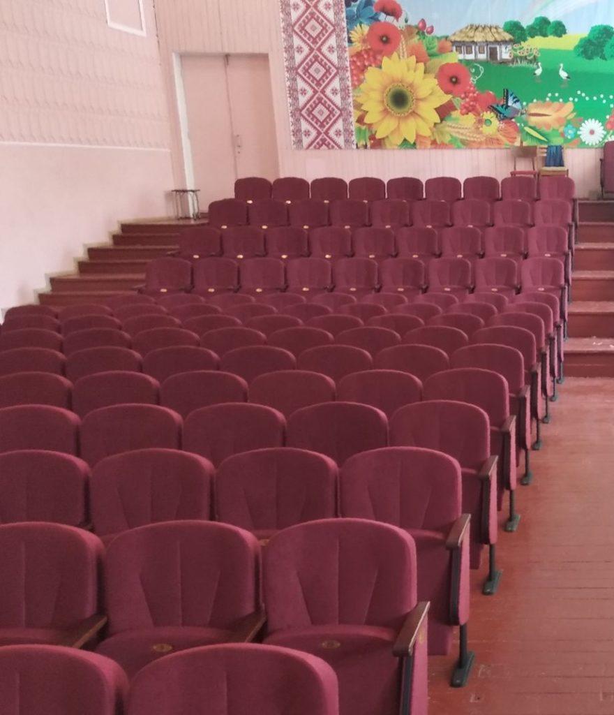 Для Центра Детского творчества в Кривом Роге изготовлено 290 кресел Лидер