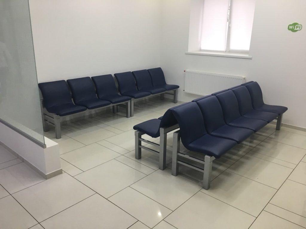 Для ОН Клиник изготовлены многоместные секции на 200 посадочных мест