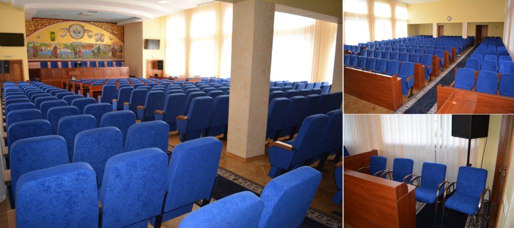 Новинки в зале. Конференц-кресла СКАЙ, ПРЕЗИДИУМ и ФОРУМ!