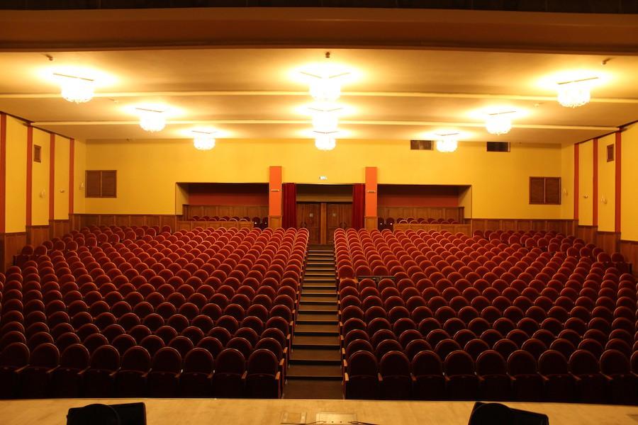 ФОТООТЧЕТ! Оборудован концертный зал ЦКСД «Нефтехимик» в Кременчуге