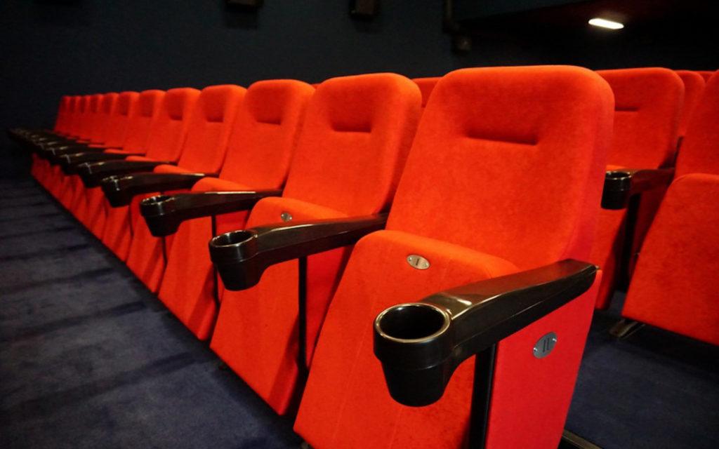 Новый проект в Польше: 156 кресел для кинотеатра в Острув-Мазовецкое (фото + видео)